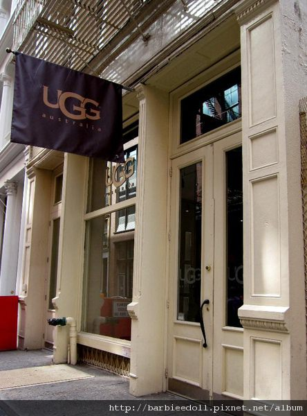 UGG store in NYC SOHO