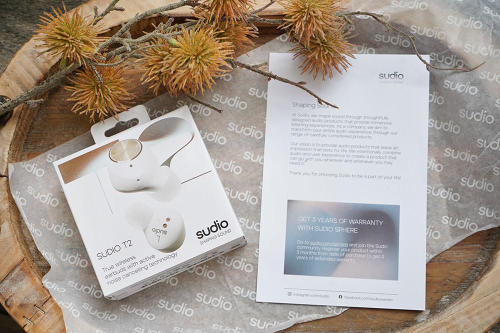 Sudio T2 瑞典無線藍芽耳機